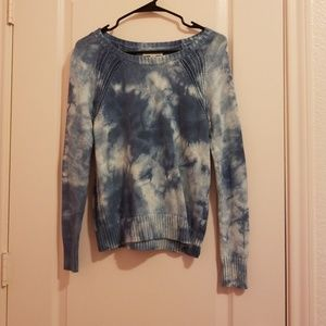 American eagle tie dye sweater